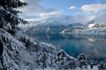 Обои Пейзаж зимней природы в Hardanger, Norway / Хардангере, Норвегия, фотограф Eirik_B