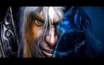 Обои Воин - полумонстр из игры World of Warcraft