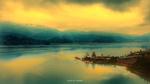 Обои Озеро ранним утром, фотограф Джи Йонг