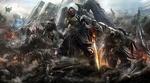 Обои Воины-ангелы прибыли с небес в современный город и ведут разрушительную войну