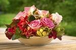 Обои Цветы в блюде, фотограф Erwin Bosman