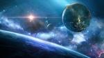 Обои Планеты в космическом пространстве