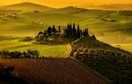Обои Тоскана / Tuscany, Италия, фотограф Gurkan Gundogdu