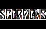 Обои Иллюстрированное название группы Scorpions
