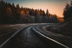 Обои Уходящая вдаль железная дорога, фотограф Irina Kostenich