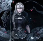 Обои Девушка-воин из игры Fate / Grand Order / Судьба / Великий Приказ, by Yun Sihang