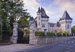 Обои Замок-крепость с садом, France / Франция