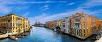 Обои Большой канал в Венеции / Venice, Италия / Italy под синим небом при свете дня, by Gerhard Gellinger