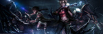 Обои Tia / Тиа и Ariela / Ариэла в бою против монстров, by Eddy-Shinjuku