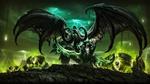 Обои Демон во главе легиона, из игры World of Warcraft / Мир военного ремесла, by ddddd210