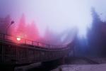 Обои Трамплин в тумане, Puijo, Kuopio, Finland, фотограф Juuso Hаmаlаinen