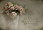 Обои Ведро с увядшими розами, фотограф JHanna