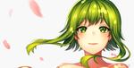Обои Vocaloid Gumi Megpoid / Вокалоид Гуми Мегпоид, by Akariinnn
