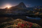 Обои Рассвет на Лофотенских островах, фотограф Carlos F Turienzo
