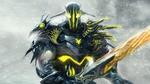 Обои Воин Свен / Sven - герой игры Дота 2 / Dota 2 стоит под снегопадом с мечом