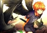 Обои Shouyou Hinata / Шое Хината из аниме Haikyuu!/Волейбол, by Akariinnn