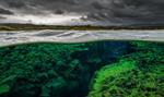Обои Silfra / Сильфра- рифтовая долина, Национальный парк Тингвеллир / Thingvellir, by Wild Places