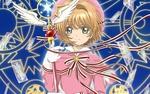 Обои Сакура Киномото / Sakura Kinomoto из аниме Сакура - собирательница карт / Card captor Sakura
