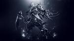 Обои Всадник Death / Смерть с косами в руках, из игры Darksiders II: Death Lives / Апокалипсис II: Смерть живет, by paha13