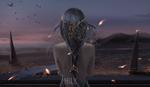 Обои Princes Scelestia / Принцесса Селестия из веб-комикса Ghost Blade / Призрачный Клинок, by wlop