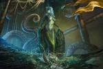 Обои Siren / Сирена на фоне тонущего парусника, by Edikt Art