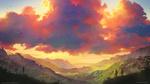 Обои Людям, стоящим на холмах, открывается красивый пейзаж, by Tohad