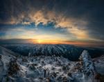 Обои Закат в горах, фотограф Krasi St M
