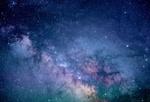 Обои Млечный путь с сиянием звезд, фото Джереми Томас