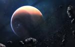 Обои Планета Сатурн в бесконечном пространстве, фотограф Vadim Sadovski