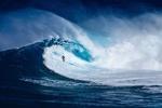 Обои Серфер проносится по волне бушующего океана, by Anton Repponen