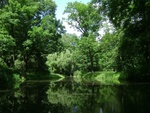 Обои Пруд в парке, Warsaw, Poland / Варшава, Польша, by 12019