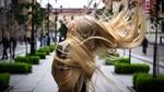 Обои Девушка с длинными волосами, фотограф Юрий Семенов