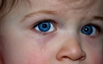 Обои Слеза на лице ребенка, by Myriam