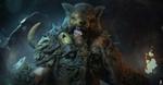 Обои Воин Raaka / Раака в медвежьей шкуре, by mzrkart