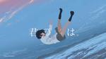 Обои Mitsuha Miyamizu / Мицуха Миямизу из аниме Kimi no Na wa./Твое имя, by mochiFayy