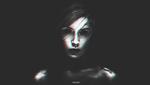 Обои Девушка - демон в полумраке, by JordanVdb