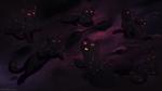 Обои Черные кошки созвездия, by MarikBentusi