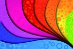 Обои Векторный абстрактный рисунок-разноцветные волны