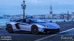Обои Realistic Lamborghini на набережной, by Rudraksh Jain