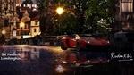 Обои Realistic Lamborghini на вечерней улице, by Rudraksh Jain