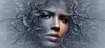 Обои Фантазийный портрет девушки, by Stefan Keller