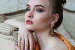 Обои Портрет девушки с задумчивым взглядом, by Анастасия Гепп