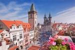 Обои Вид на город Прагу, Чехия