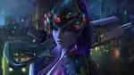 Обои Widowmaker / Роковая Вдова, арт к игре Overwatch / Дозор, by Wen-JR