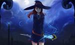 Обои Atsuko Kagari / Ацуко Кагари из аниме Little Witch Academia / Академия ведьмочек, by Sei-Chan88