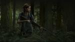 Обои Ellie Williams / Элли Уилльямс с винтовкой в лесу, арт к игре The Last of Us: Part II / Последние из нас: Часть 2