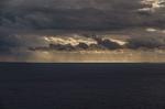 Обои Лучи света среди сумрачного неба над морем, by ju-dit