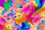 Обои Абстрактный яркий фон, by GraphicAssets