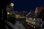 Обои Nuremberg / Нюрнберг, улица старого города в полнолуние, by Gerhard Gellinger