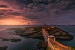 Обои Маяк на острове Pancha, Spain / Панча, Испания, фотограф alfonso maseda varela